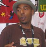 "Author photo. San Diego Comic Con 2006 <br>Copyright © 2006 <a href=""http://ronhogan.tumblr.com"">Ron Hogan</a>"