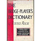 Bridge Player's Dictionary & Quick-Reference…