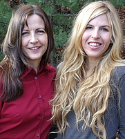 Author photo. Jessica Dorman and Cathy Bryant, mother and daughter writing team.