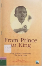 From Prince to King: King Bhumibol…