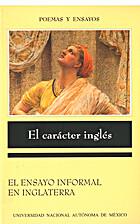 El carácter inglés. El ensayo informal en…