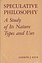 Speculative Philosophy: A Study of Its…
