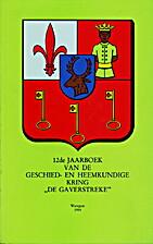 12de Jaarboek van de Geschied- en…