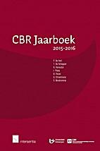 CBR jaarboek 2015-2016 by Paul De Hert