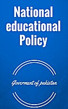 National educational Policy by Goverment of…