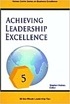 Achieving leadership excellence : 50…