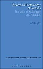 Towards an Epistemology of Ruptures: the…