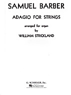 Adagio for strings Op. 11 arranged for organ…