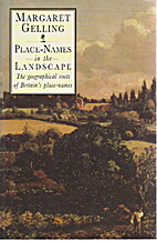 Place-names in the landscape by Margaret…