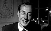 Author photo. Brian Matthew in 1962.