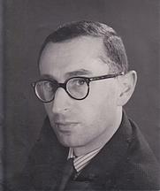 Author photo. Antony Grey in the 1960s