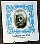 Kaulana na Pua: An Hawaiian album, 1890-1930