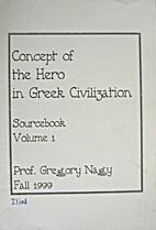 Concept of the Hero in Greek Civilization 1…