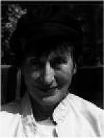 Author photo. Publicity photo on author webpage of her publisher Carcanet Press.