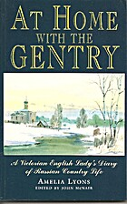At Home With the Gentry: A Victorian English…