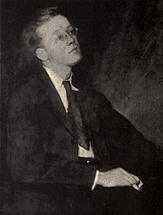 Author photo. Image from <b><i>Poems (1904-1917)</i></b> (1917) by Wilfrid Wilson Gibson