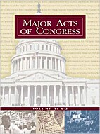 Major Acts of Congress: 001 by Brian K.…