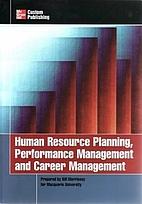 Human Resource Planning, Performance…