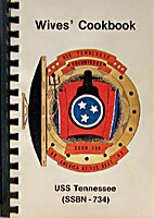 Wives' Cookbook USS Tennessee by USS…