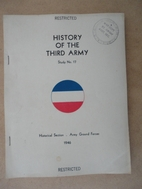 History of the Third Army. by Francis G…
