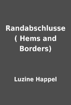 Randabschlusse ( Hems and Borders) by Luzine…