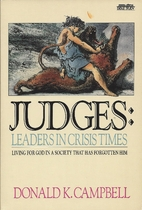 Judges: Leaders in Crisis Times (Bible…