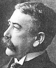 Author photo. Ferdinand de Saussure (1857-1913)