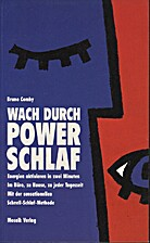 Wach durch Power- Schlaf by Bruno Comby
