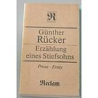 Erzählung eines Stiefsohns by Günther…