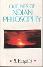 Outlines of Indian Philosophy by M.…
