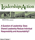 A Question of Leadership: Does Shared…