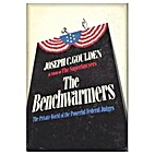 THE BENCHWARMERS by Joseph C. Goulden