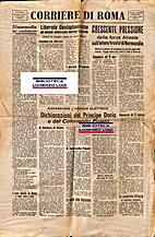 Corriere di Roma : n.38 : giovedì 13 luglio…