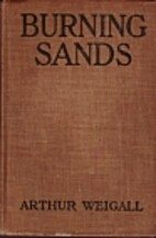 Burning Sands (Illustrated with Scenes From…