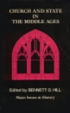 Church and State in the Middle Ages by…
