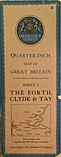 Quarter Inch Map Of Great Britain Sheet 3…