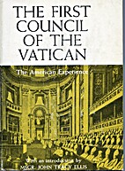 The First Council of the Vatican: the…