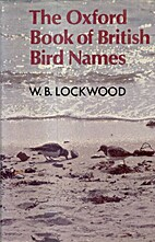 The Oxford Book of British Bird Names by…