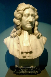 Author photo. Bust of Edmond Halley in the<br> Museum of the Royal Greenwich Observatory, London<br> (Credit: Klaus-Dieter Keller, 2006)