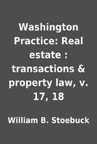 Washington Practice: Real estate :…