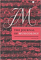 The Journal of Musicology 5/4 (Fall 1987)