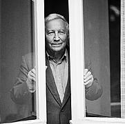 Author photo. Tadeusz Różewicz, Warszawa, 2005, phot. Elżbieta Lempp