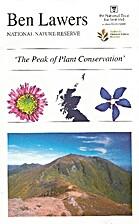Ben Lawers National Nature Reserve 'The Peak…