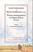 Poesía contemporánea en lengua hebrea :…