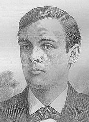 Author photo. Young Wales magazine, 1896