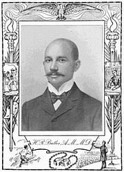 Author photo. From: TWENTIETH CENTURY NEGRO LITERATURE OR A CYCLOPEDIA OF THOUGHT ON THE VITAL TOPICS RELATING TO THE AMERICAN NEGRO. 1902