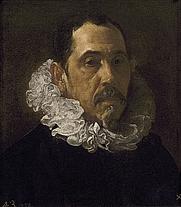 Author photo. Francisco Pacheco by Diego Rodríguez de Silva y Velázquez