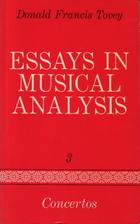 Essays in Musical Analysis, Volume 3:…