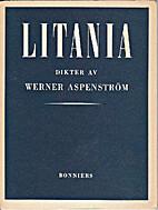 Litania by Werner Aspenström