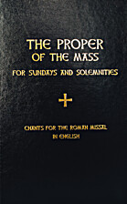 The Proper of the Mass for Sundays and…